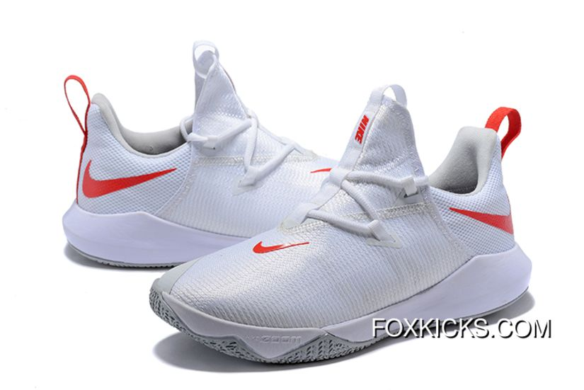 307320dba122 New Year Deals Nike Zoom Shift 2 EP White Red-Pure Platinum