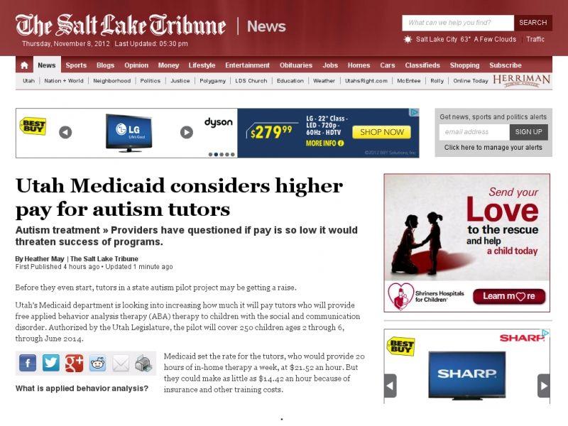 Utahs medicaid department is looking into increasing how
