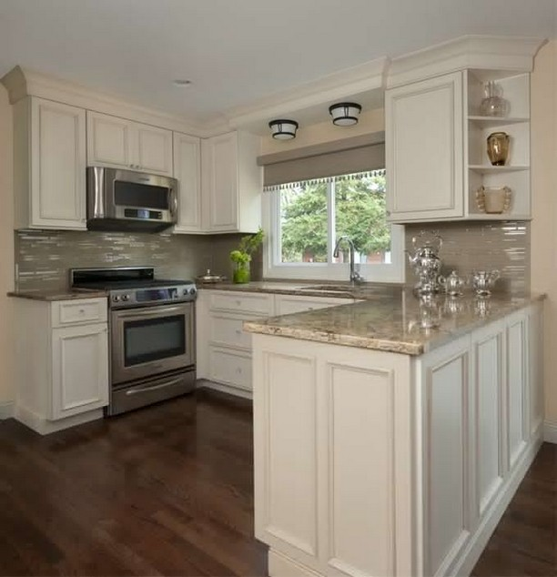 24 Grey Kitchen Cabinets Designs Decorating Ideas: 110+ Elegant Grey Kitchen Backsplash Ideas Inspiration 8