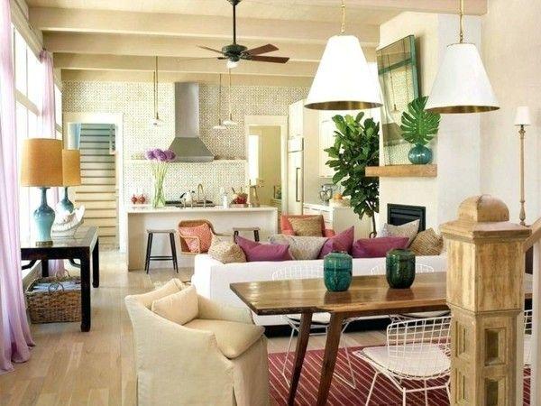 Kleines Wohnzimmer mit Essbereich einrichten - Tipps der Freshideen