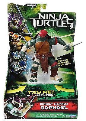 Teenage Mutant Ninja Turtles Movie: Playmates: Deluxe Raphael Action Figure MOC