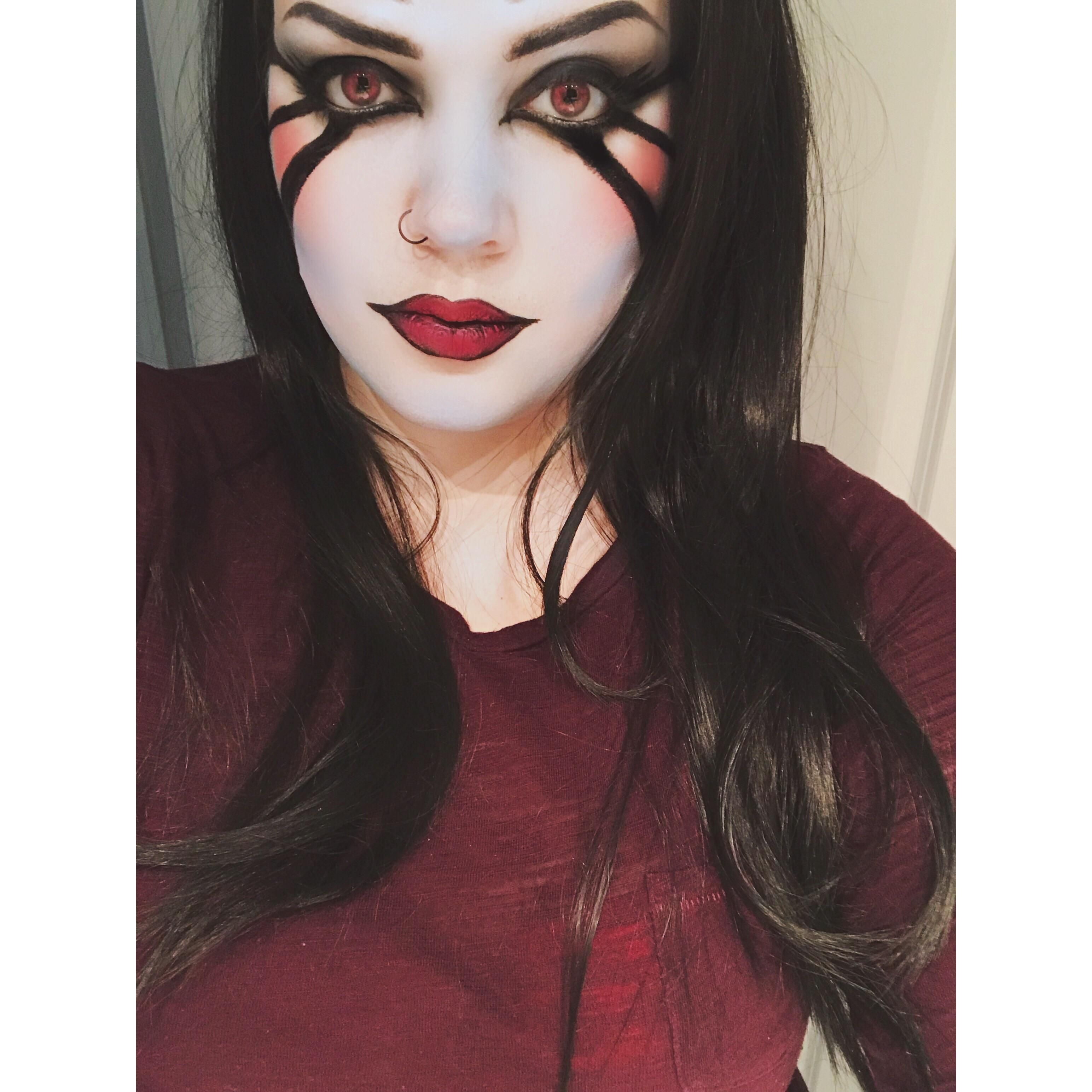 self] super lowkey queen of pain cosplay i did for nvidias i <3 dota