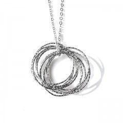 Collana Moda in Rodio - Women Rhodium Necklace