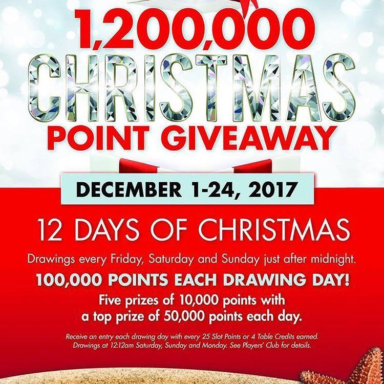 Alhambra Casino On Aruba Has Begin Its 1200000 Christmas Points Giveaway If Your On Arubacome And Join I Sweepstakes Giveaways Christmas Drawing Sweepstakes