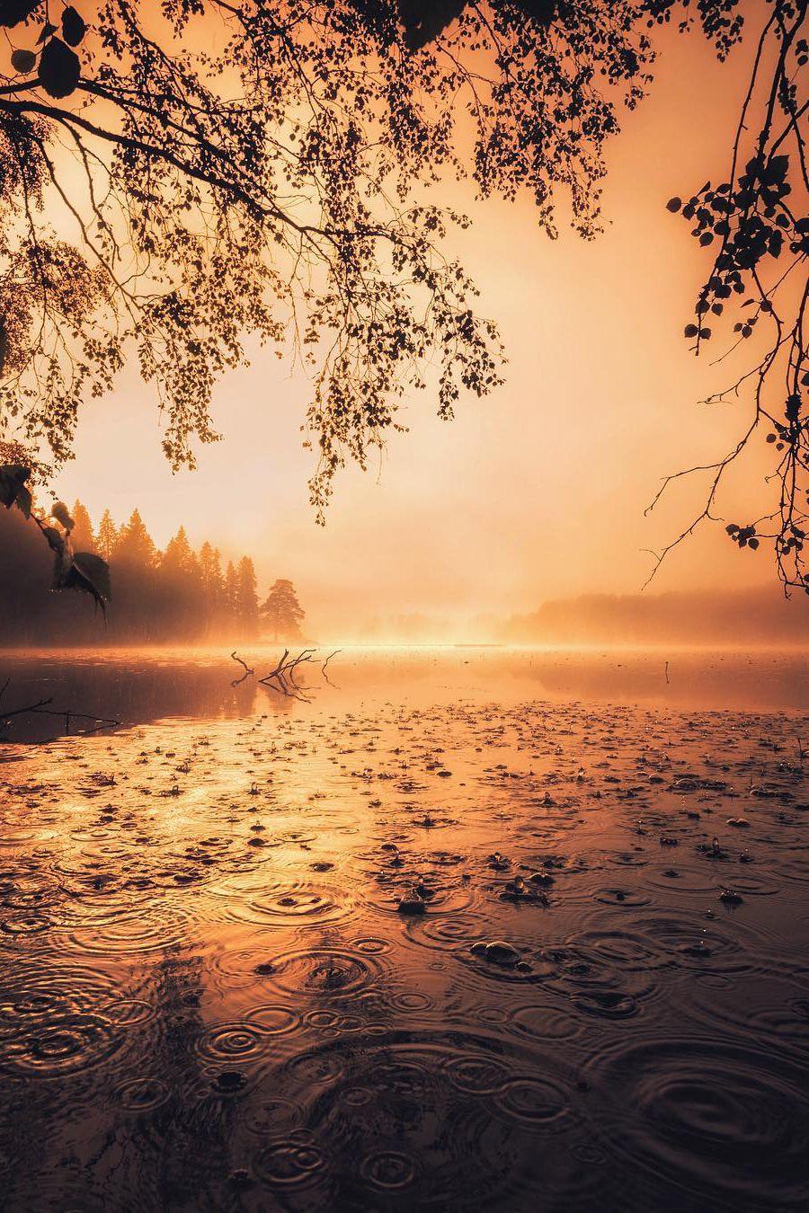 Auringonnousu Tampere