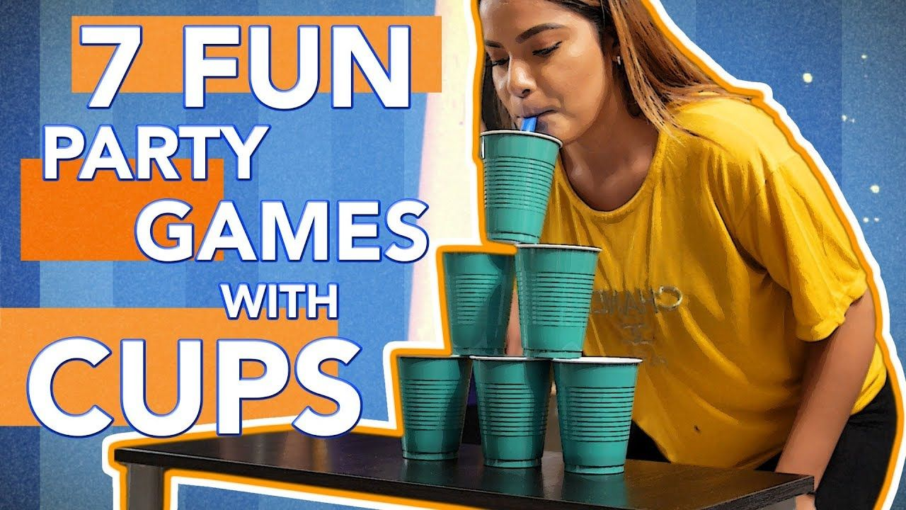 7 Fun Party Games With Cups You Must Try Part 3 Youtube Fun Party Games Fun Games For Adults Kitty Party Games