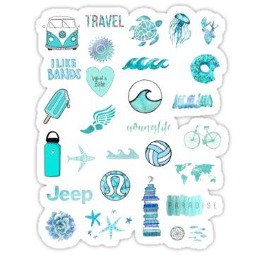 phone case sticker pack #11 Sticker | Tumblr stickers ...
