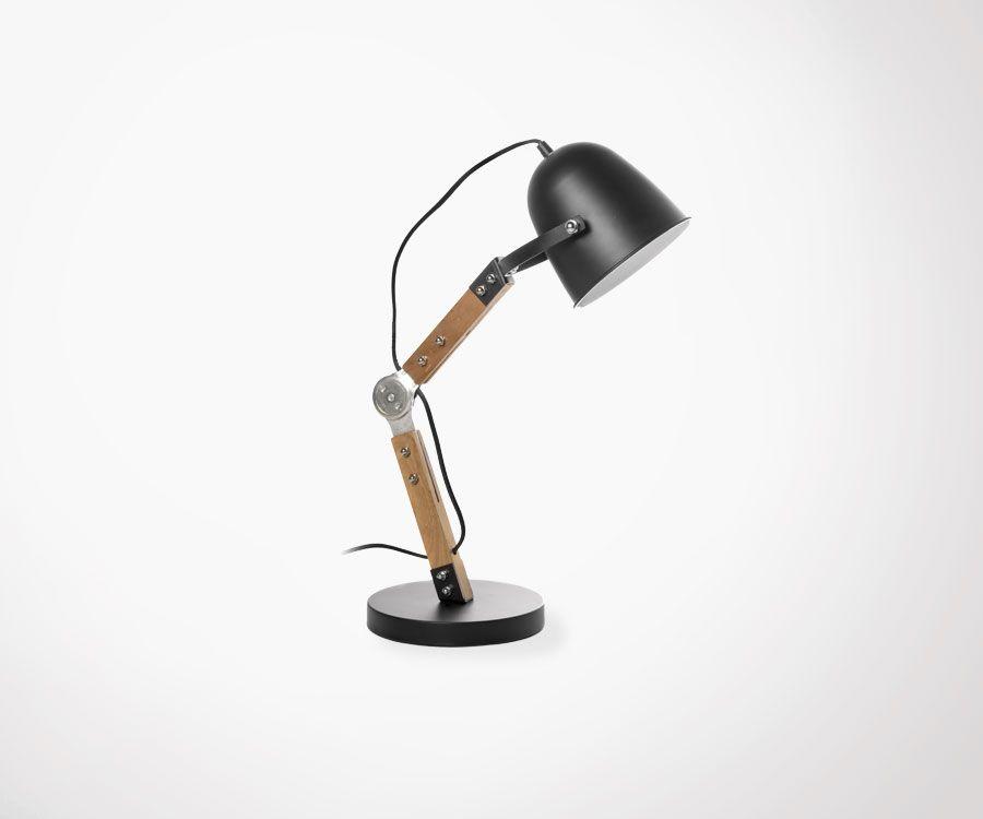 Lampe de bureau noir articulées pratique et design elle