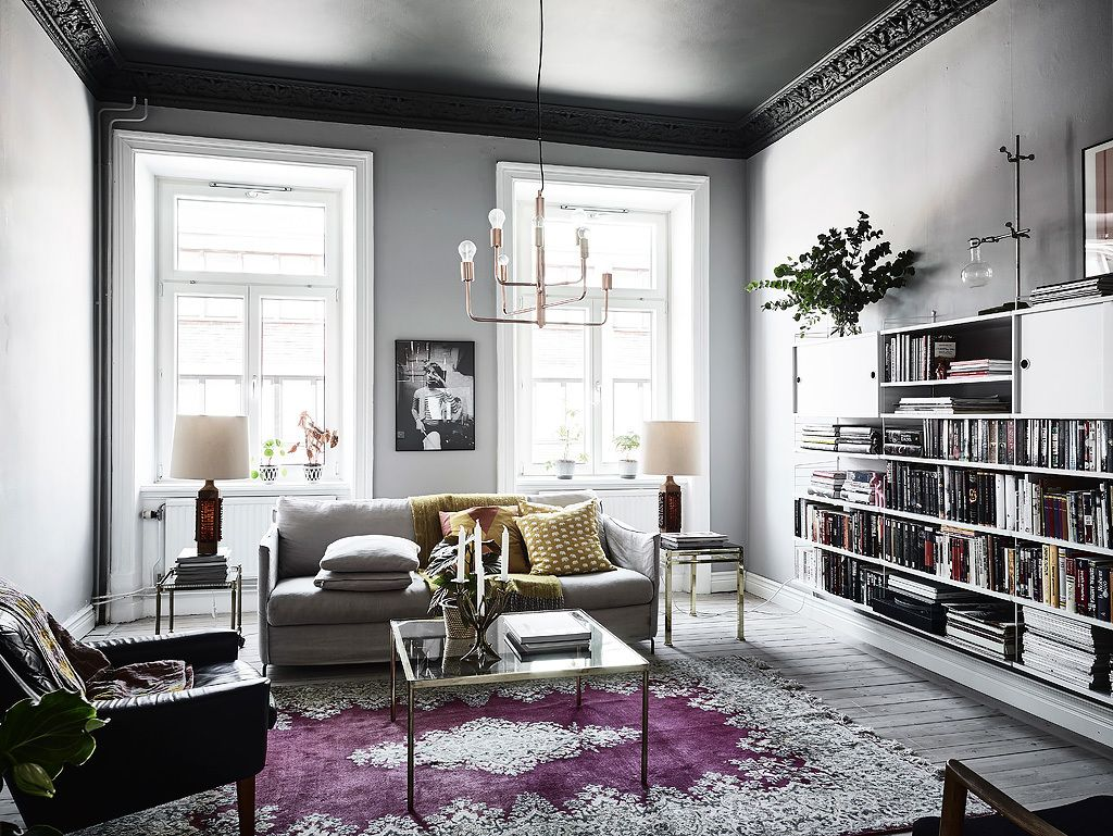 Get Your Fall On: 13 Perfectly Moody Eclectic Living Rooms | Bold ...