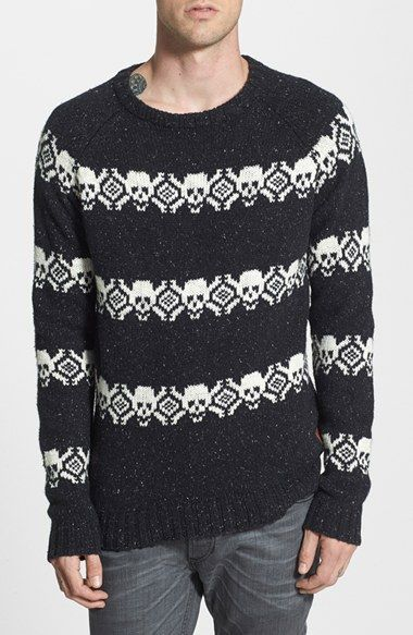 Deus Ex Machina  Skull  Fair Isle Sweater available at  Nordstrom ... 1c6368c2d
