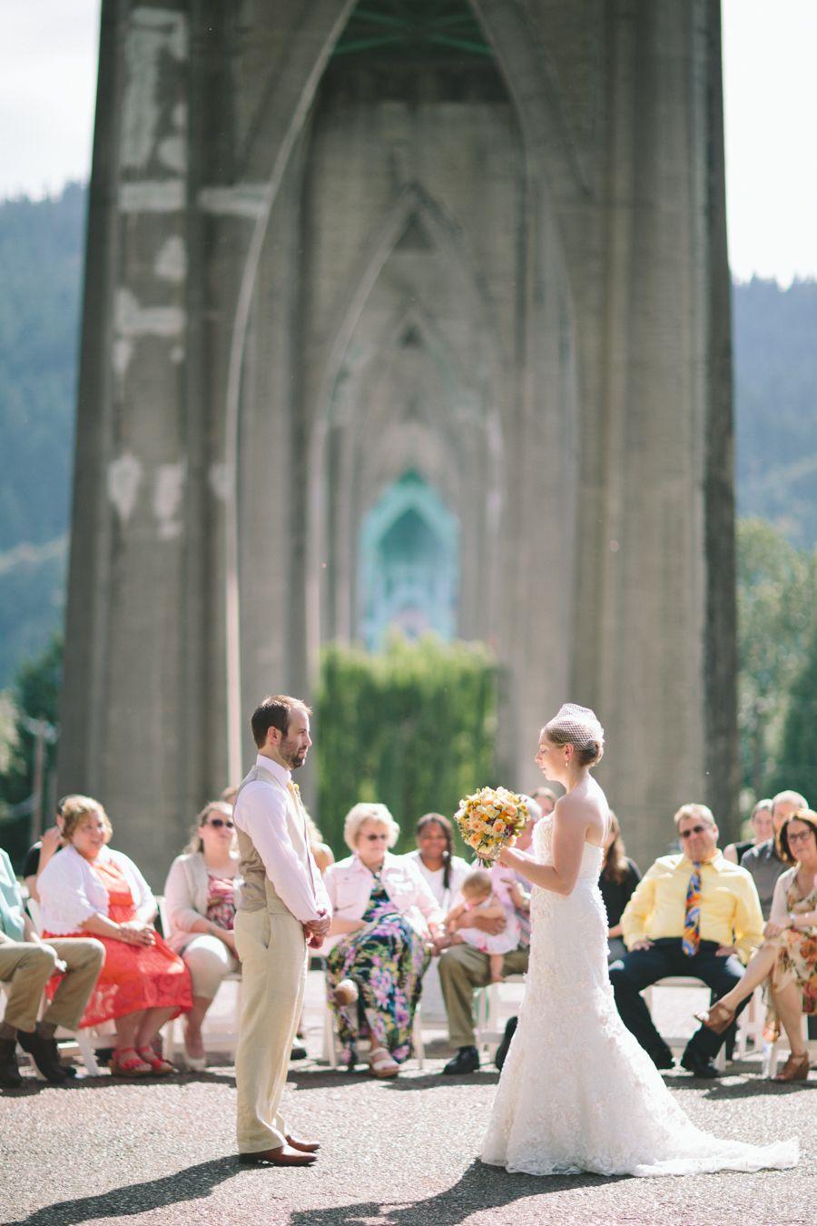 Portland Wedding Photographers // Cathedral Park // St