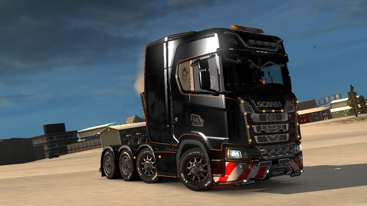 ETS 2 Promods 2 27 Going to Iceland (Boring Video)   Direct Gaming