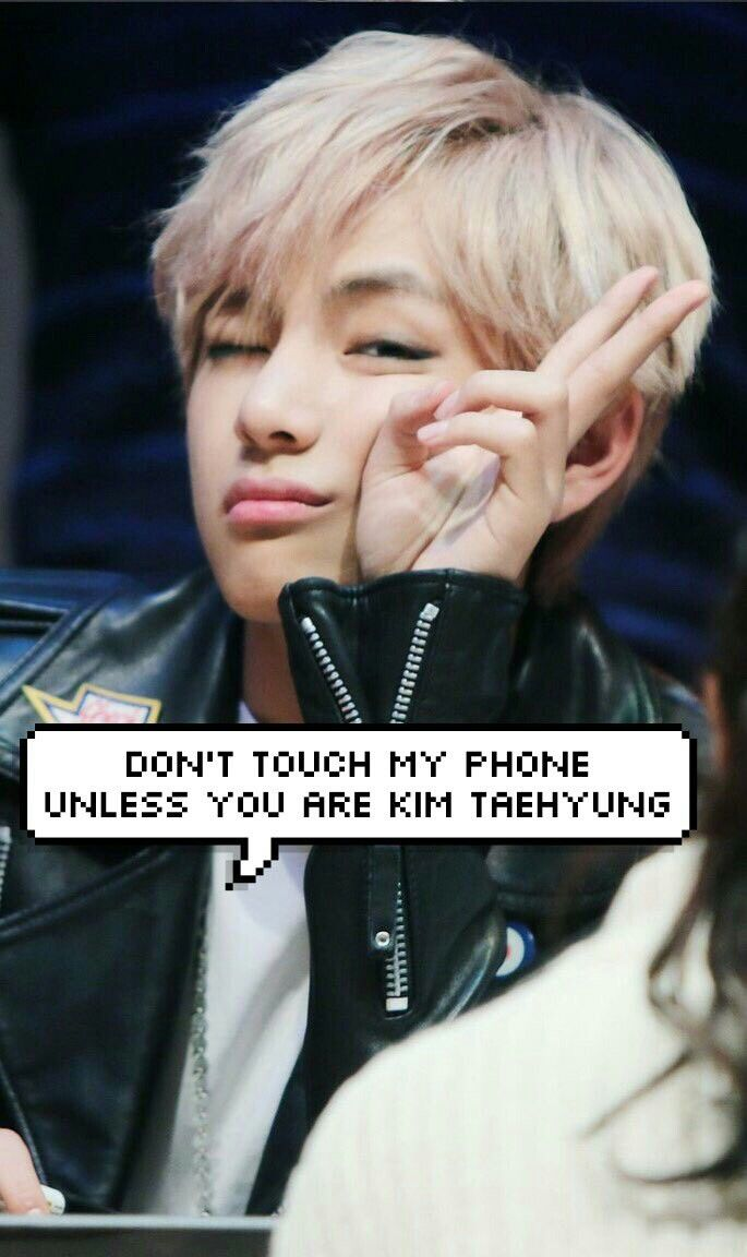 Pin By Tynele On Don T Touch My Phone Taehyung Bts Taehyung Kim Taehyung Bts wallpaper phone v