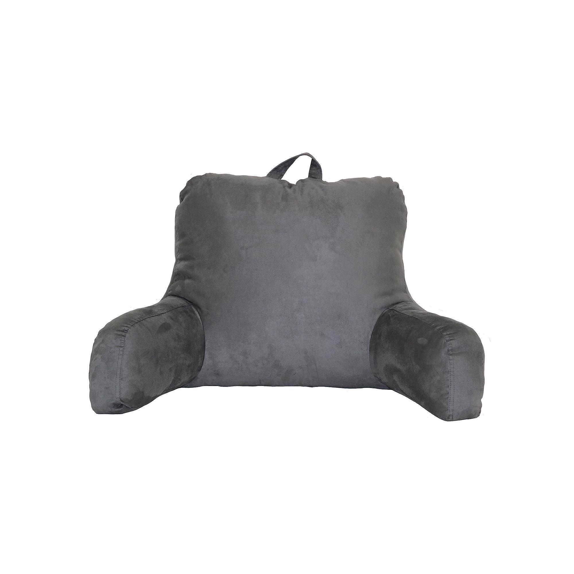 Faux Suede Backrest Pillow | Backrest