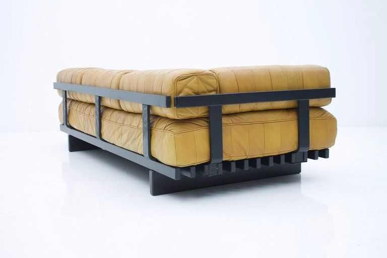 Tremendous De Sede Leather Daybed Ds 80 Sofa Bed Switzerland 1960S For Alphanode Cool Chair Designs And Ideas Alphanodeonline