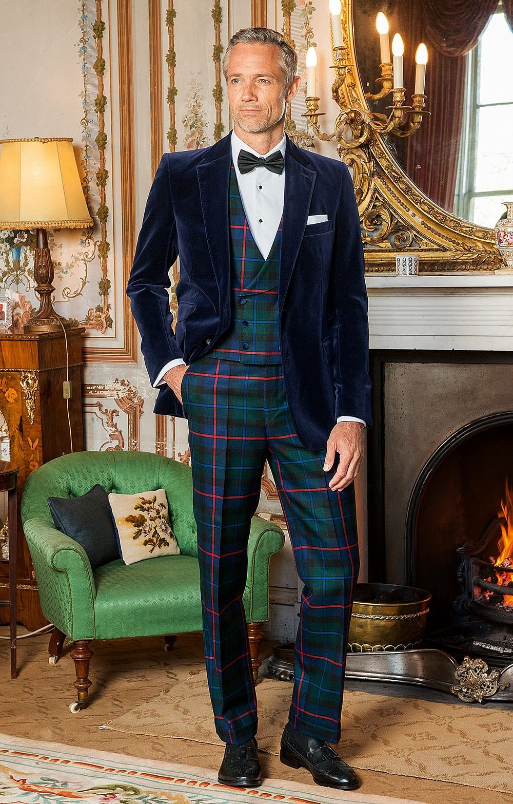 Plaid Trousers In 2019 Tuxedos Tartan Men Fashion Cool Suits