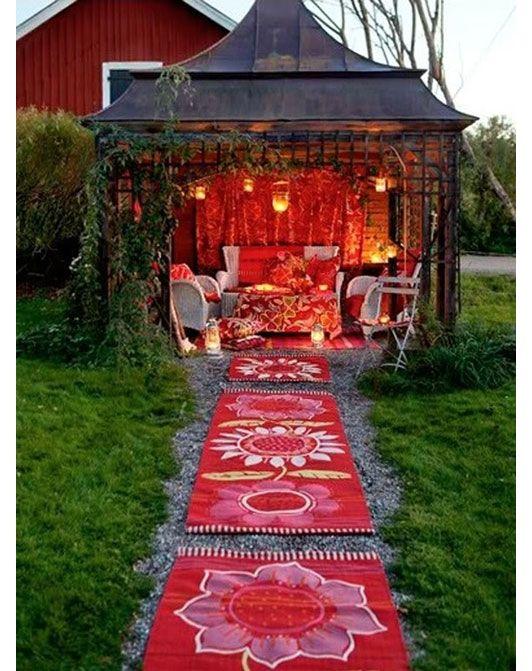 Bohemian Gazebo Outdoor Structures Bohemian Patio She