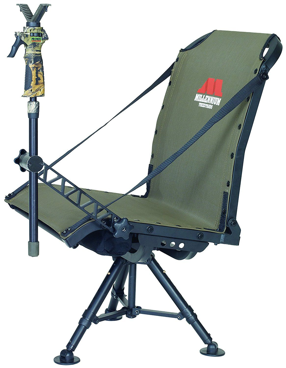 Amazon Com Millennium Treestands G100 Blind Chair Sports Outdoors Hunting Blinds Hunting Chair Deer Hunting Gear