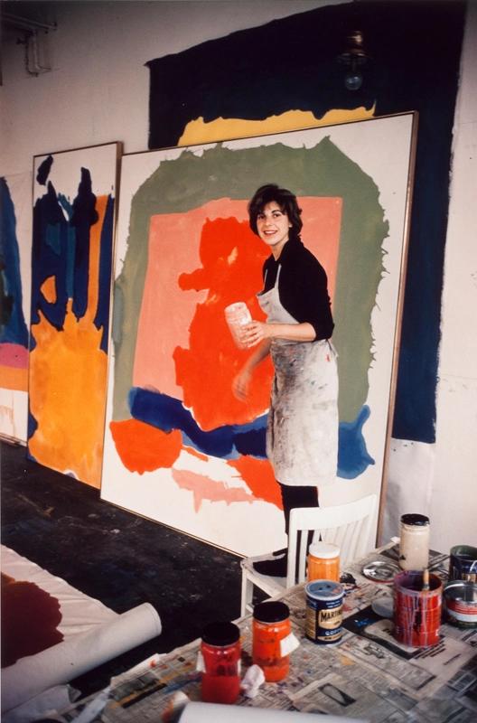 Helen Frankenthaler   Fans in a Flashbulb