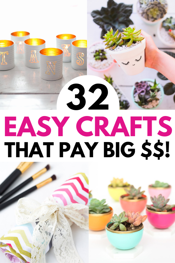 Hot Craft Ideas to Sell 30+ Crafts To Make And Sell From