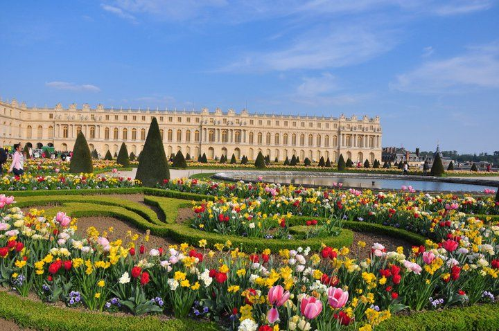 I love Versailles gardens due to many fountains, one of my