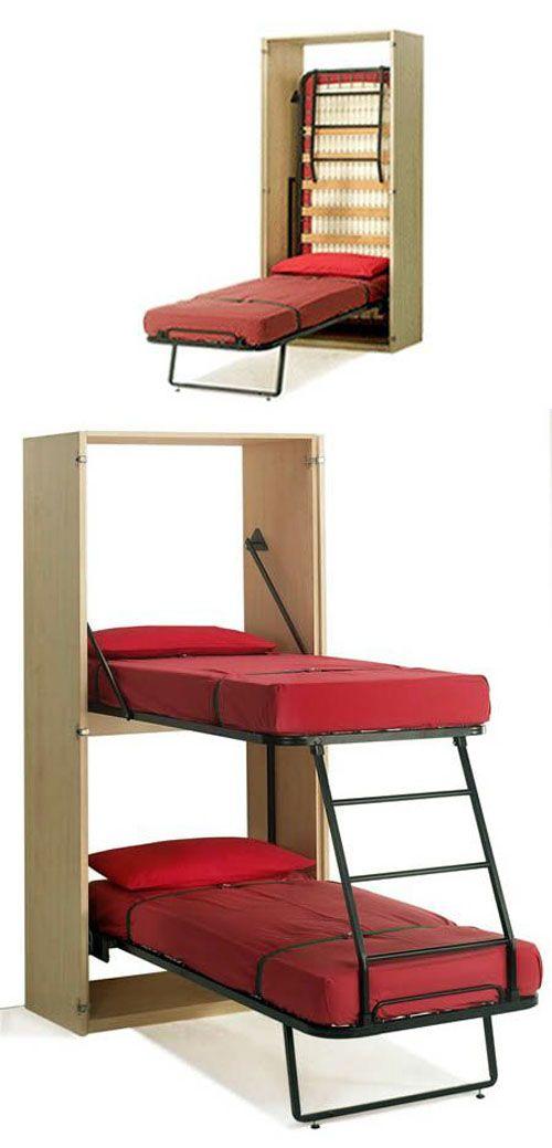 15+ Ingeniosos Muebles para Ahorrar Espacio Folding furniture