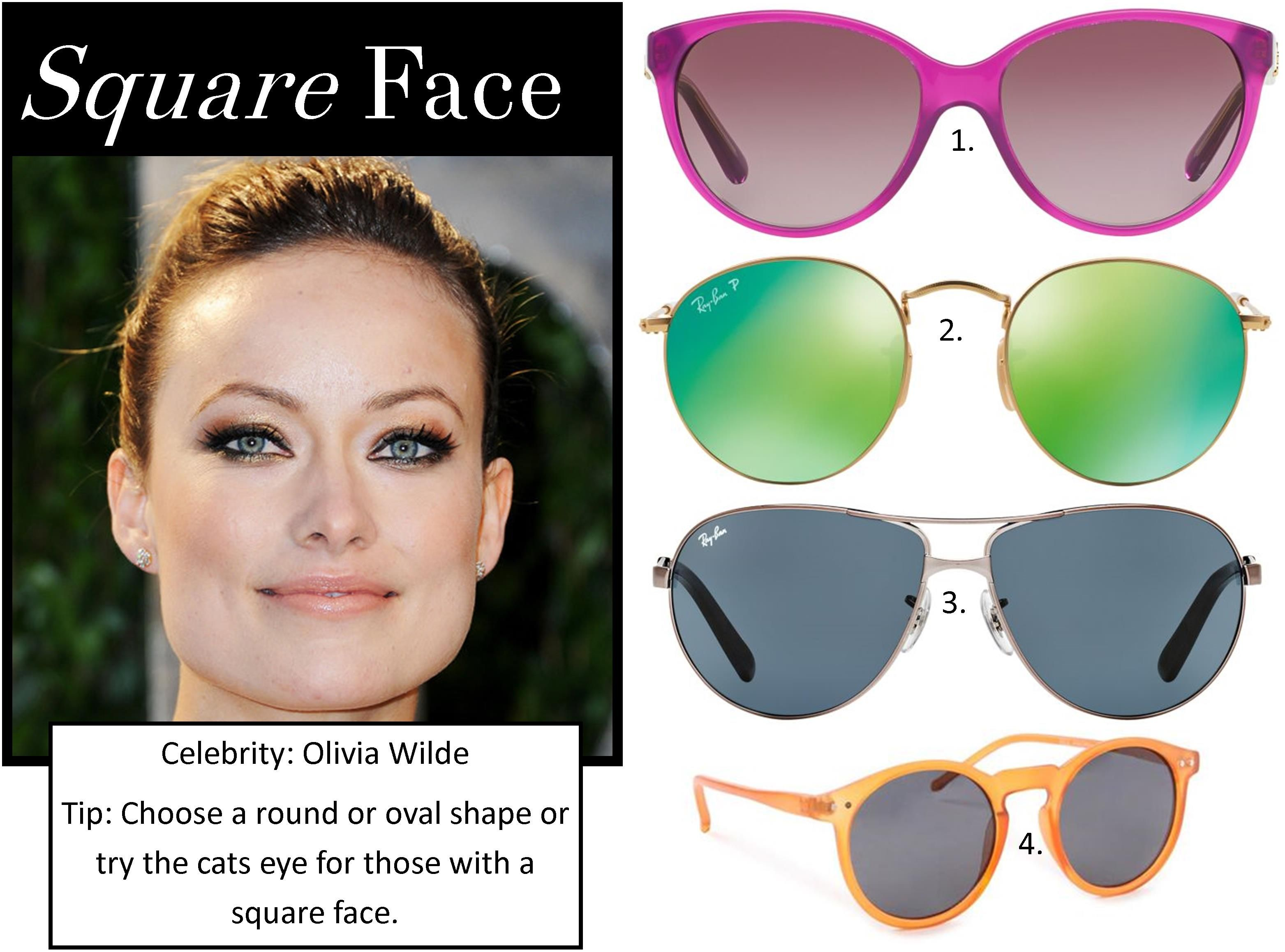 9e5186fcf7 Sunglasses – The best styles for your face shape