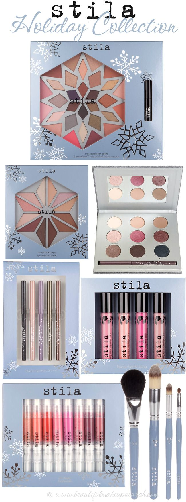 #Stila #Holiday Collection 2012