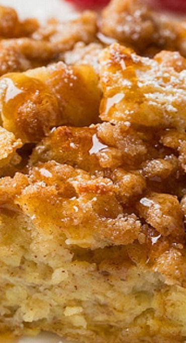 Overnight French Toast Casserole - Cooking Classy