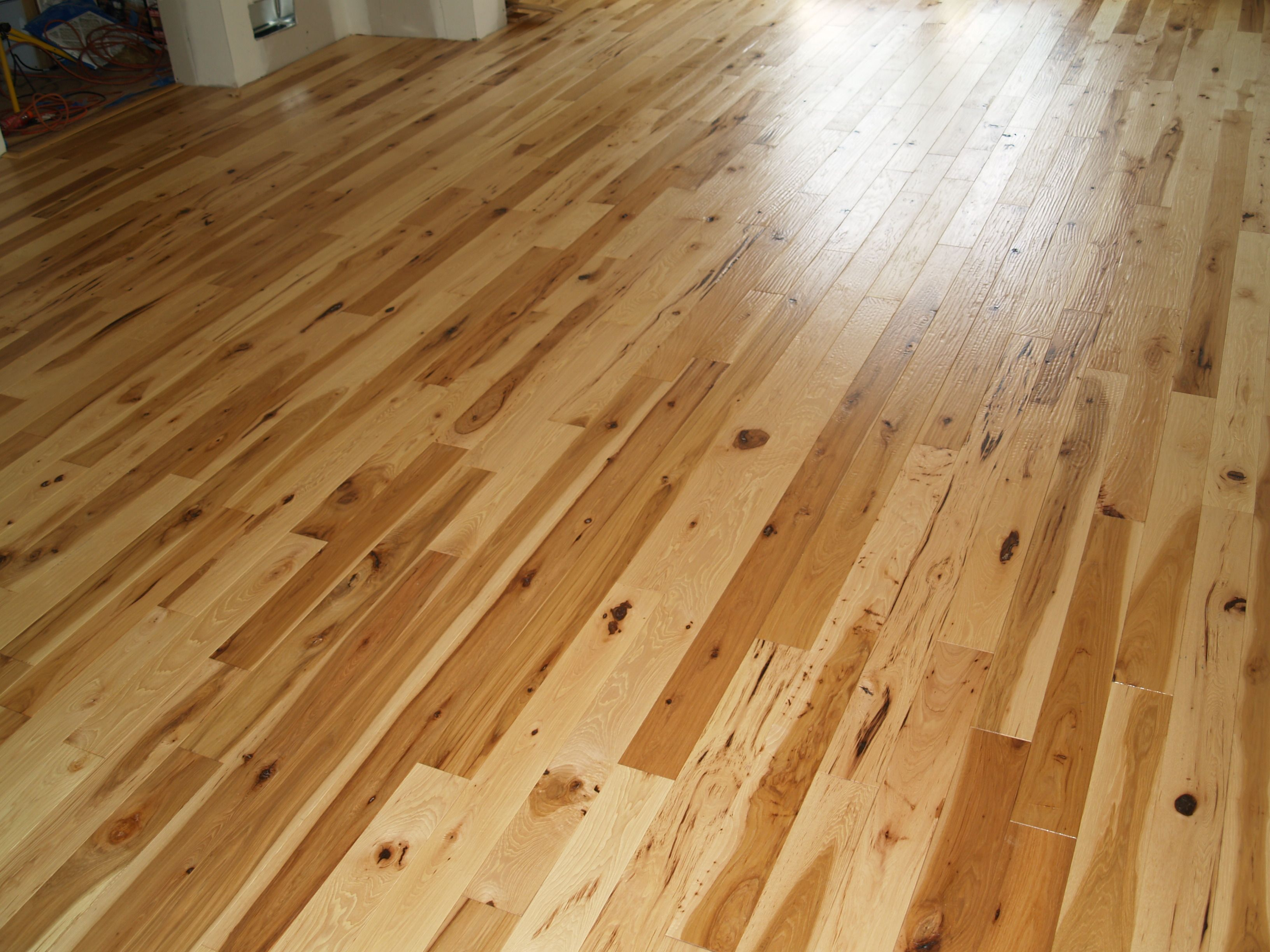 Homerwood Amish Hand Scraped Character Grade Hickory Flooring New Jersey