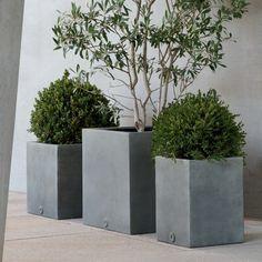 beton pflanzk bel selber machen zahrada pinterest garten k bel und pflanzen. Black Bedroom Furniture Sets. Home Design Ideas