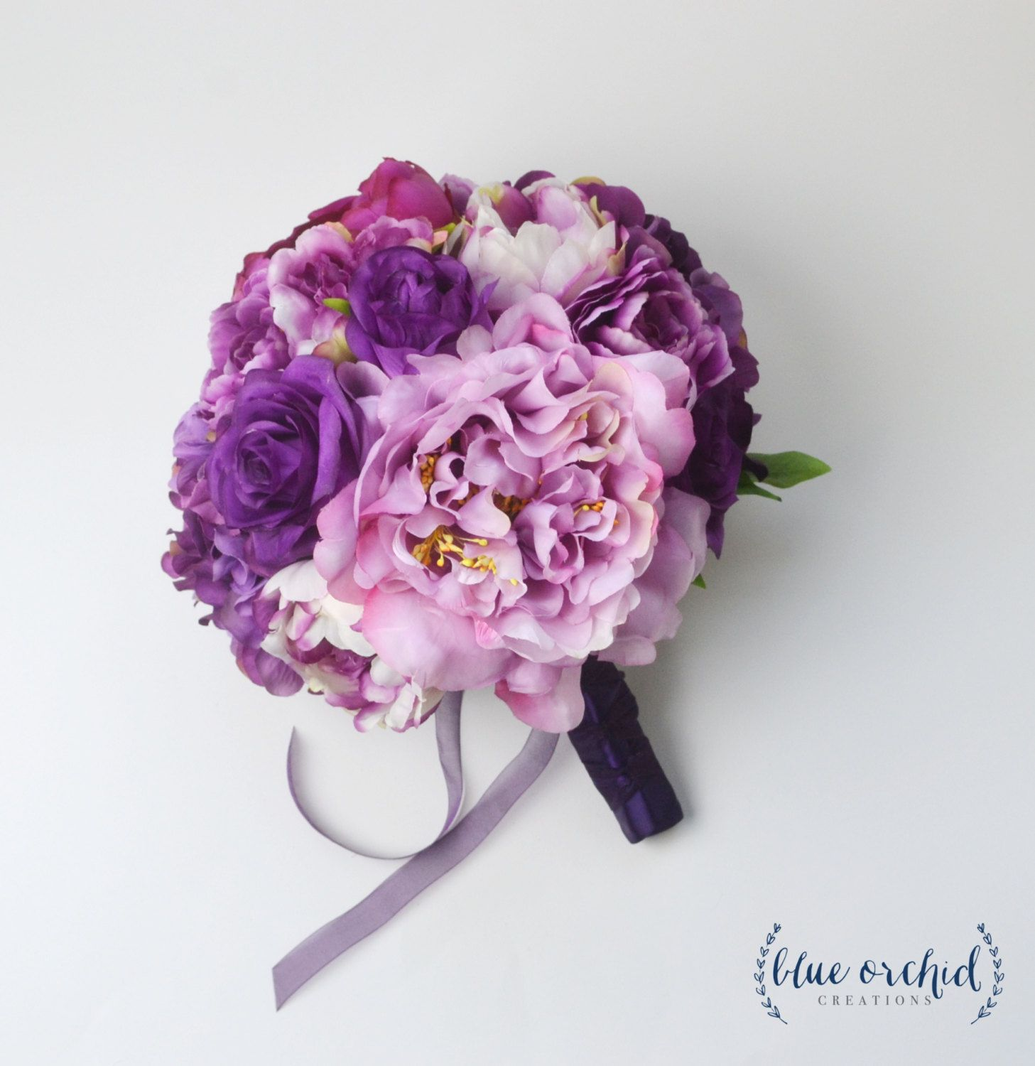Wedding bouquet purple bouquet peony bouquet silk bouquet silk wedding bouquet purple bouquet peony bouquet silk bouquet silk flowers silk dhlflorist Images