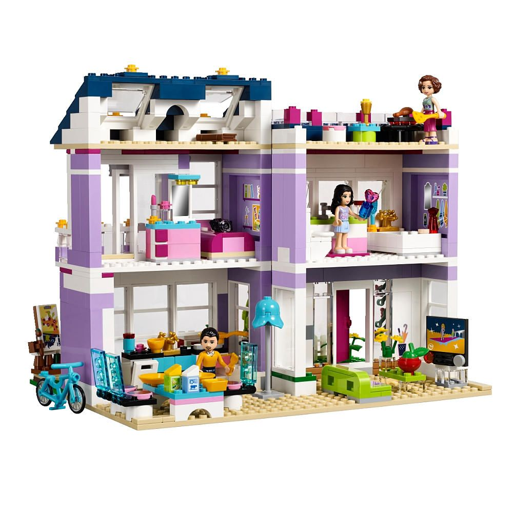 lego friends emma 39 s house 41095 lego toys r us. Black Bedroom Furniture Sets. Home Design Ideas