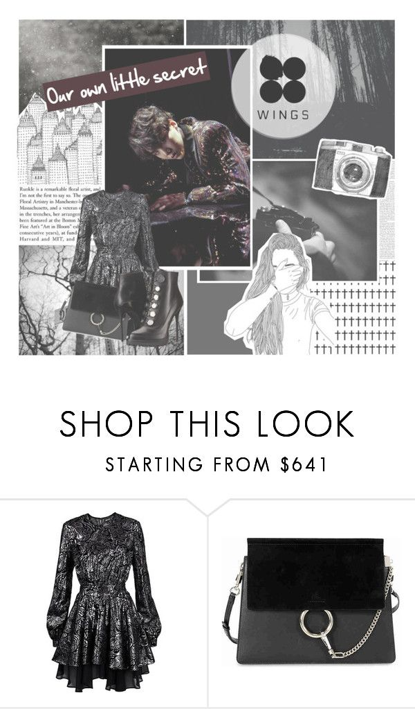 """""""Our own little secret - Suga"""" by schnpri00 ❤ liked on Polyvore featuring Grotesk, Edition, Just Cavalli, Chloé and Alexander McQueen"""