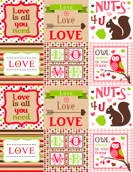 Whole Hearted Valentines Day Printable Labels Worldlabel Blog Valentines Printables Free Valentines Printables Valentines Cards