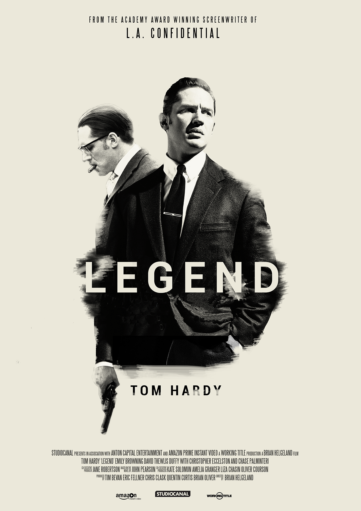 Legend - epic gangster fun starring Tom Hardy as Ronnie Kray and Tom ...