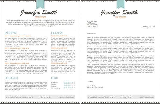 Premium Line Of Resume & Cover Letter Templates