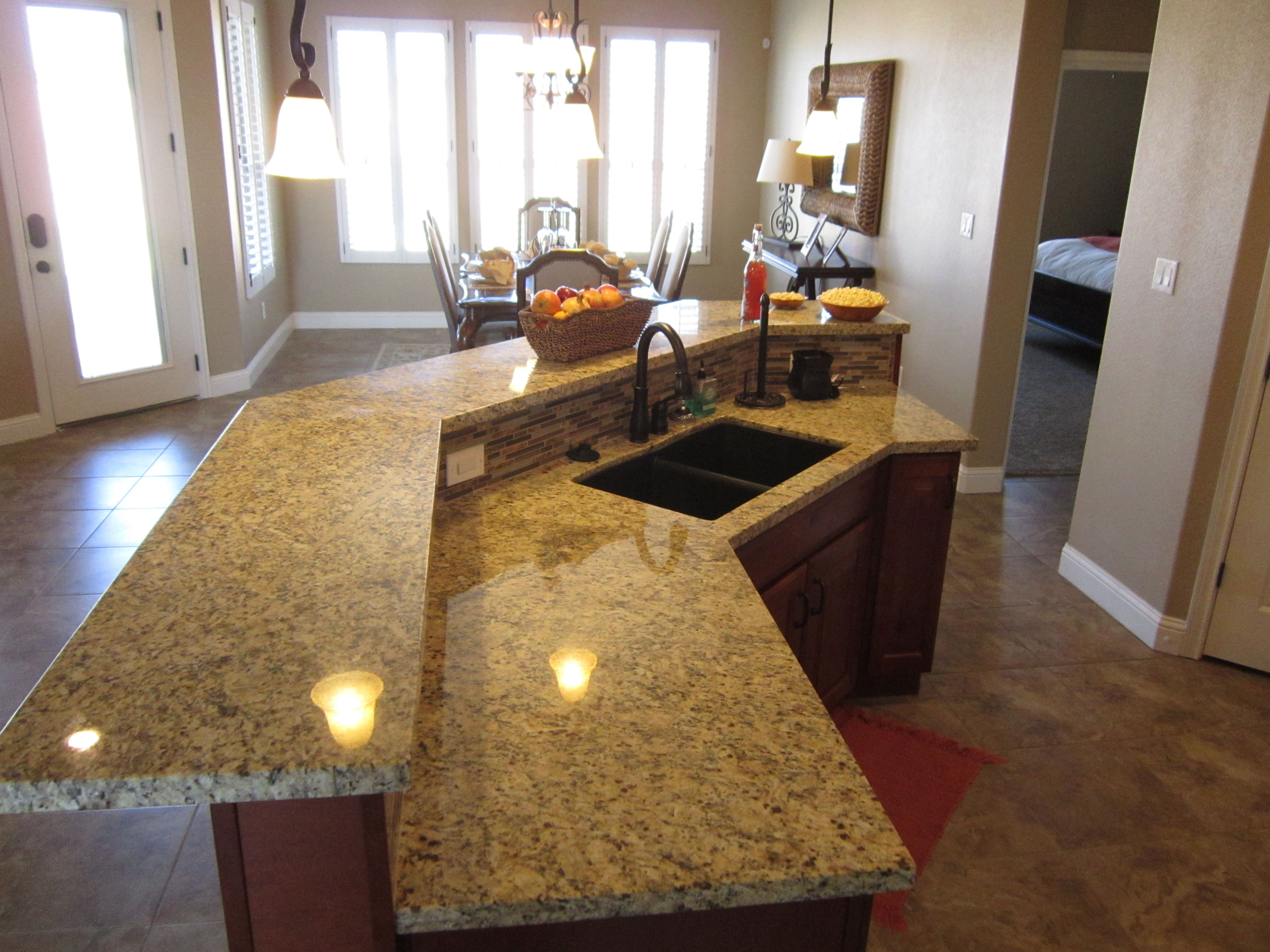 Beautiful Low Maintenance Granite Countertops Standard In All Our Homes