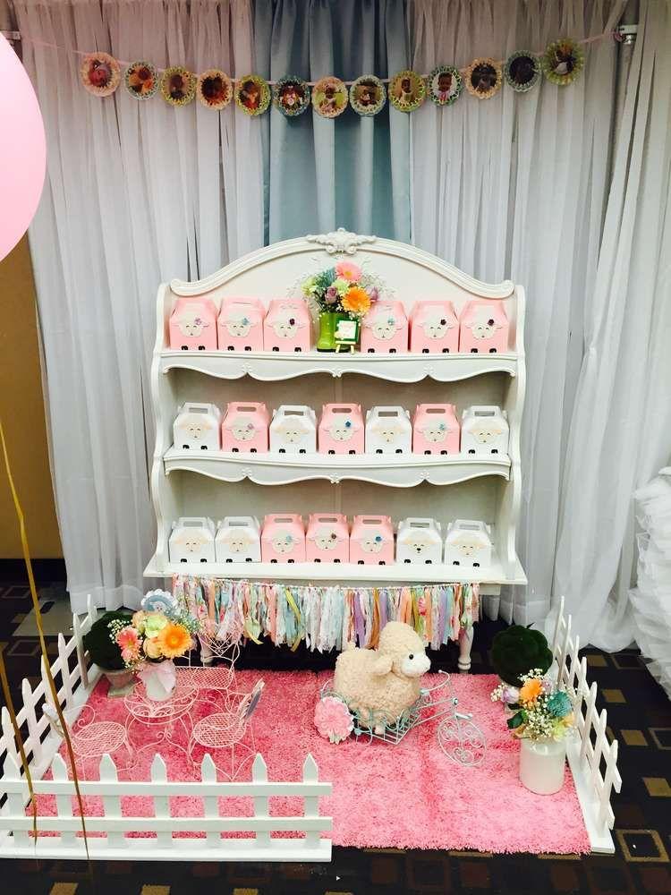 Mary Had A Little Lamb Birthday Party Ideas