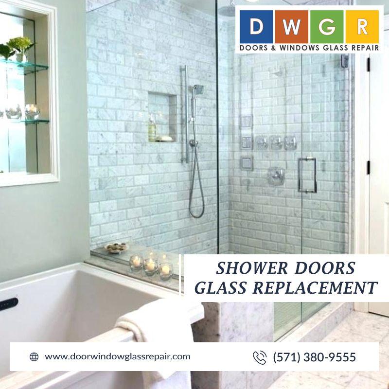 Shower Doors Glass Repair #glassrepair