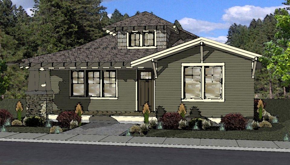 Craftsman Style House Plan Bend Or Craftsman Style House Plans House Plans House Design