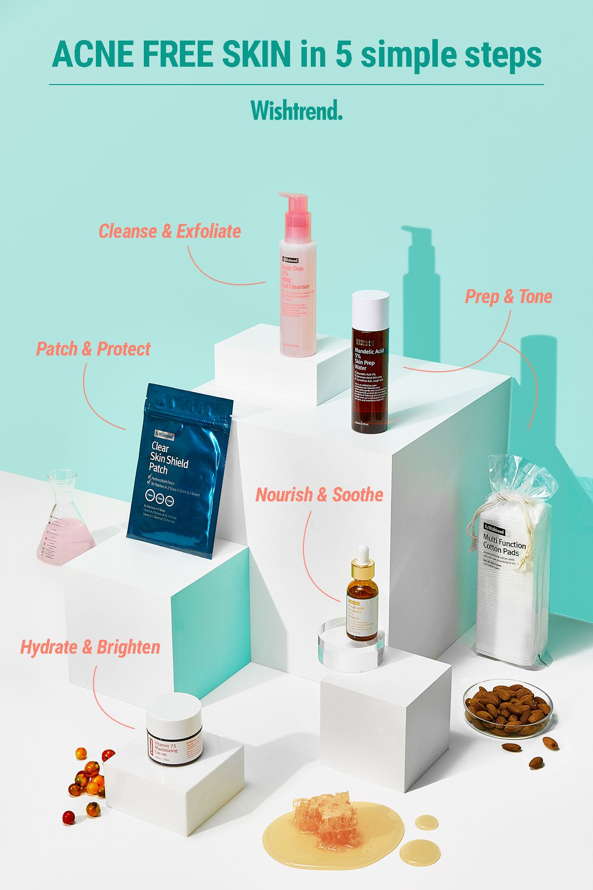 Clear Skin Package Acne free skin, Moisturizer for oily