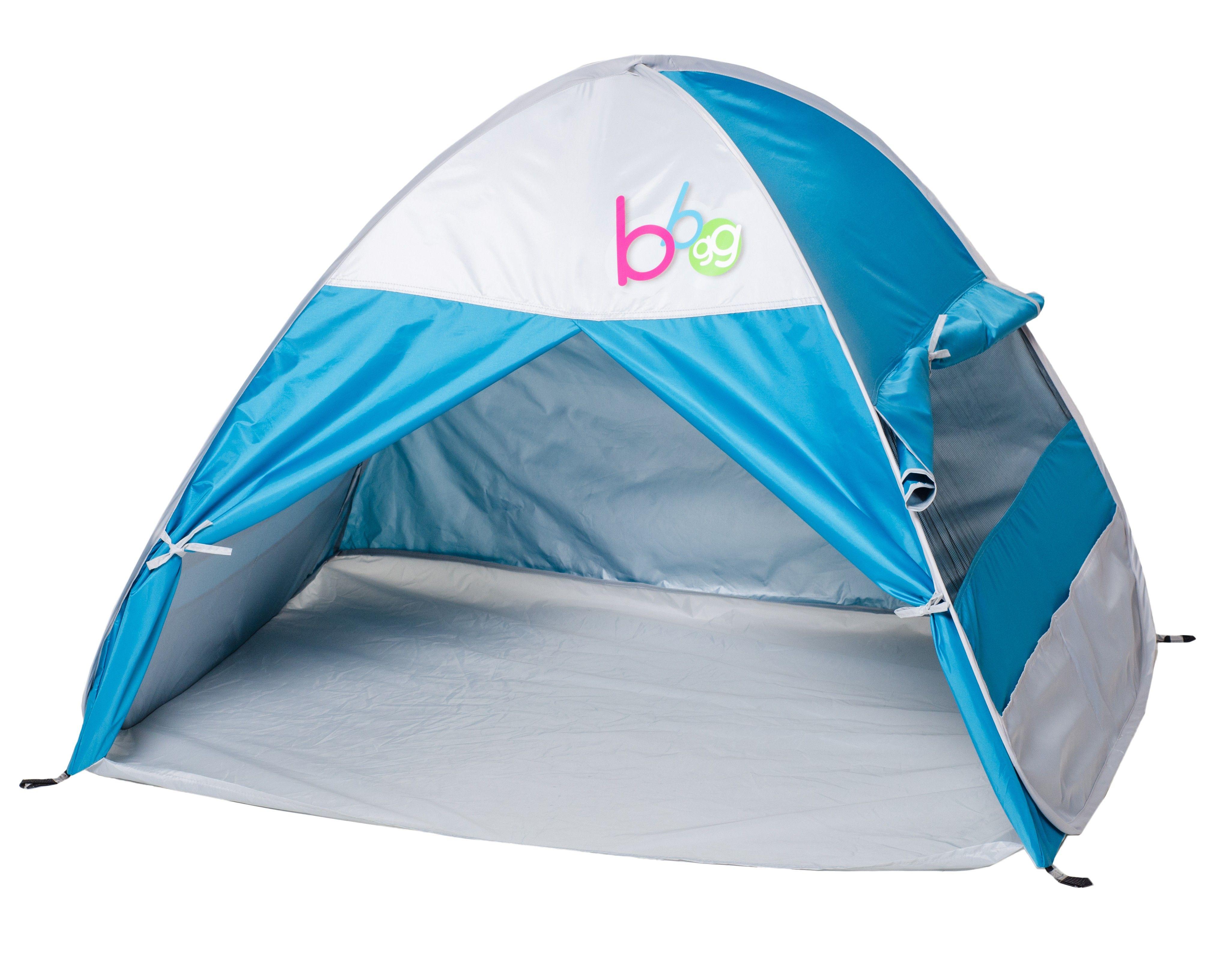 Infant Sun Cabana Blue Pop Up Beach Shelter Tente Uv The Baby Factory