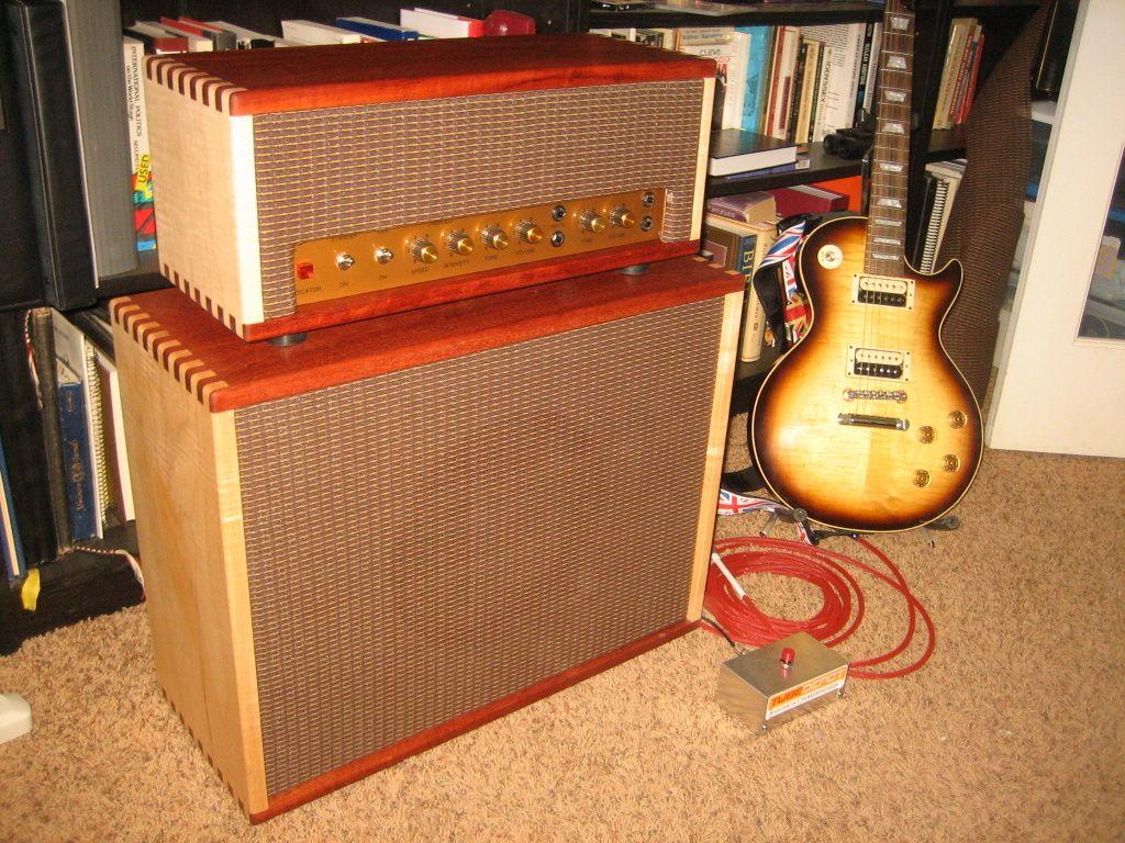 Classic british 18w tube guitar amp kit head guitar
