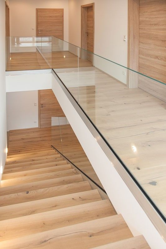 Glasgeländer Bodenprofil