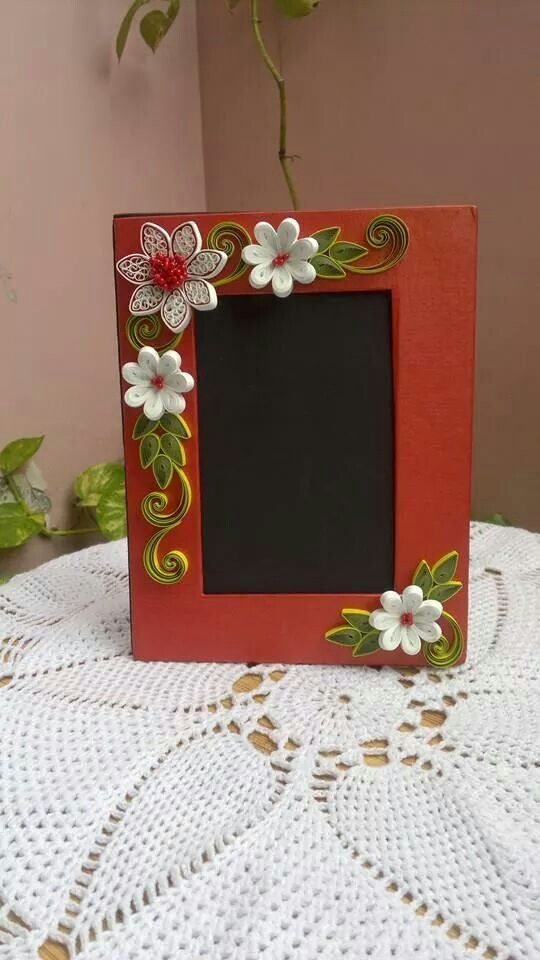 Quilling work neli flowers cards paper also best frames images cadre photo do crafts rh pinterest