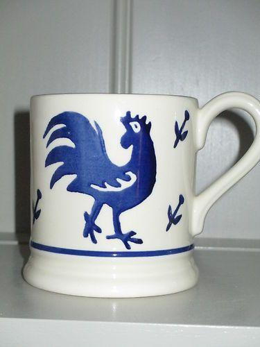 Emma Bridgewater Mark Hearld Cockerel Half Pint Mug