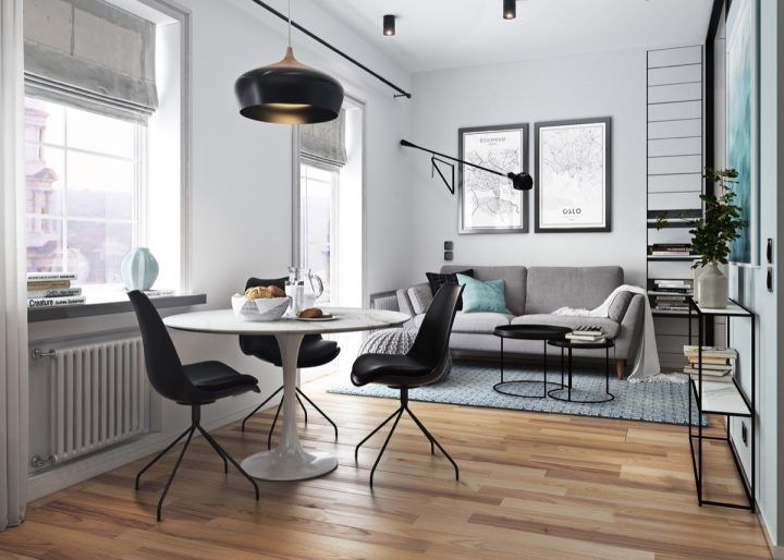 Take a look through a gallery of 5 stylish contemporary studio apartments gathered together for your personal perusal if you looking for ideas or