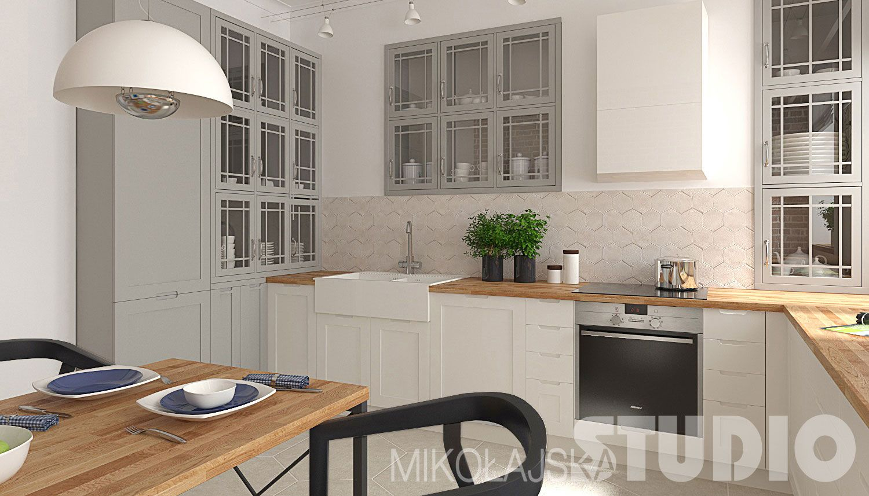 Szara Kuchnia I Dylemat Jakie Plytki Nad Kuchennym Blatem Interior Design Kitchen Kitchen Kitchen Design