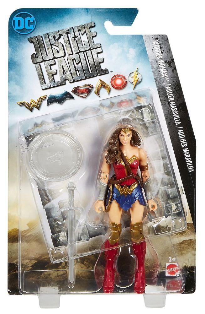 6/'/' DC Wonder Woman Action Figure Justice League Comic Super Hero Collect PVC